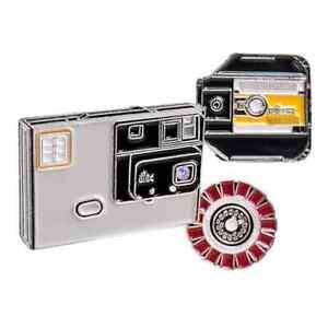 Kodak Disc Film and Camera Enamel Lapel Pin