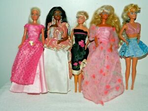 Mattel Dressed Barbie & 1 Clone Doll Lot #3AU1