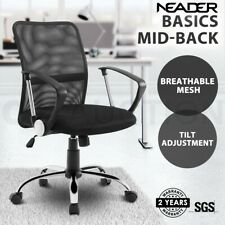 Executive Office Computer Chair Breathable Mesh Work Armchair Home Desk Seat Bk