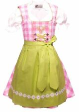 NEW.Girls,Kids,US sz 8.Germany,German,Trachten,Dirndl Dress,3-pc.Greens,B-Ware
