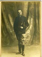 PHOTO JACQUES DE FONDS MONTMAUR POSE EN TENUE MILITAIRE 1910 127EME REGIMENT