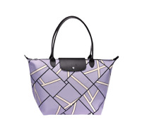Authentic Longchamp Le Pliage Neo Geo Tote Bag Lilac- Large