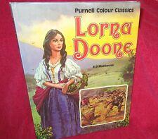 Lorna Doone R. D. Blackmore. John Worsley. Purnell Colour Classcis Hb   in MELB!