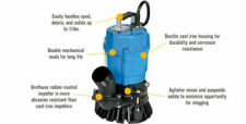 Tsurumi Hs24s 62 Cast Iron Submersible Trash Water Pump 3000 Gph 12 Hp 2