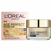 L'Oreal Paris Age Perfect Golden Re-Fortifyin Night Cream Moisturiser Sealed