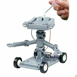 Toy Robot Kit Science Educational Kids Learning Model Brine Salt Water Powered