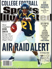 Sports Illustrated 2012 West Virginia Mountaineers Geno Smith Newstand Issue NRM