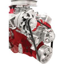 Billet Specialties Long Water Pump SBC Alternator Bracket Top Passenger Mount