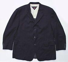 Vintage Tommy Hilfiger Blue Striped Sport Coat Jacket 46R