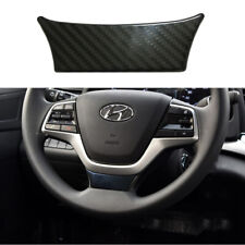 for HYUNDAI Accent 2018-2019 Carbon fiber color Interior Steering Wheel Cover