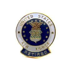 Wholesale Lot of 12 U.S. Air Force Insignia Seal Retired Lapel Hat Pin PPM050