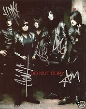 "Black Veil Brides band Reprint Signed 8x10"" Photo #2 RP ALL 5 Members"