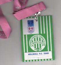 Ferencvaros v Millwall 30.9.2004 UEFA Cup Official Lanyard / Pass