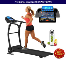 Adjustable Incline Bluetooth Nero Treadmill Electric Motorised Running Machine
