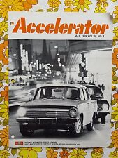 ACCELERATOR May 1969 Vol.26 No.4 GMH NASCO Parts division Holden magazine HR EH