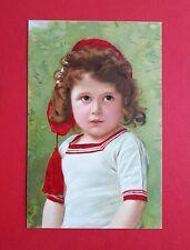 Künstler Litho AK Verlag Meissner & Buch um 1910 Kinder Portrait Frisur  ( 38190