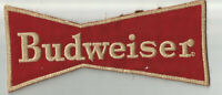 BUDWEISER Advertising driver employee jacket size patch 3-3/4 X 8-3/4