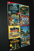 Video Game Lot 8 PC CD-ROM Assorted w/Cases Vintage Rated E