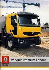 Renault Trucks Premium Lander 06 / 2006 catalogue brochure camion