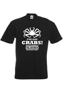Deadliest Catch inspired mens TV t-shirt - I've Got Crabs!