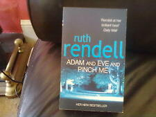 Adam and Eve and Pinch Me-Ruth Rendell Paperback English Genre Fiction Arrow2002