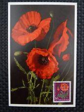 SCHWEIZ MK 1959 689 BLUMEN FLOWERS MAXIMUMKARTE CARTE MAXIMUM CARD MC CM a5305