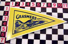 1960's Urlaub Stil Grasmere GLAS Aufkleber - Hillman B SUNBEAM HUMBER Imp