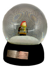 "The New Yorker Snow Shoveler 5"" Snow Globe 1977 John Jonik Cartoon Collectible"