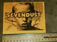 SEVENDUST 2 sided promo card free US shipping