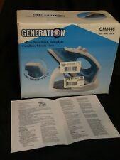 Generation Cordless Steam Iron Easy Steam Teflon Non Stick GM8446, New in Box