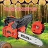12 inch 900W Bar Gasoline Chainsaw Chain Saw 25cc Engine w/ Aluminum Crankcase