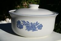 Vintage Pfaltzgraff Casserole Serving Bowl Dish w/Lid Made in USA