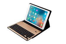 "iPad Air, Air 2, Pro 9.7"" Bluetooth Aluminium Keyboard Sleep Ultra Slim Case"