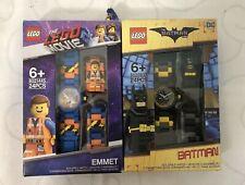 Lego Buildable Watch Batman & Emmet Lot of 2  Please READ