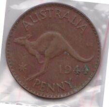 (H103-20) 1944 AU one penny coin (T)