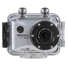 Vivitar DVR786HD 1080p HD Waterproof Action Video Camera Camcorder (Silver)