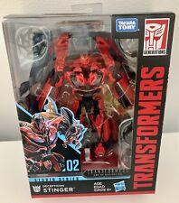 Transformers Studio Series 02 Deluxe Class Decepticon Stinger USA Seller NEW!