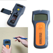 3 in 1 Multi Stud Scanner AC Live Wire Cable Wood Metal Wall Detector Finder