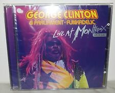 CD GEORGE CLINTON - LIVE AT MONTREUX 2004 - NUOVO NEW