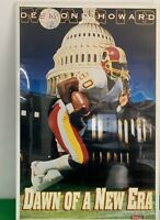 """Vintage NOS 1993 DESMOND HOWARD Dawn Of New Era Costacos Brothers Poster 23""""x35"""""""