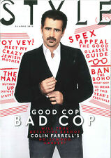Style Mag: Will True Detective Reboot Colin Farrell's Hollywood Career? 28.4.15