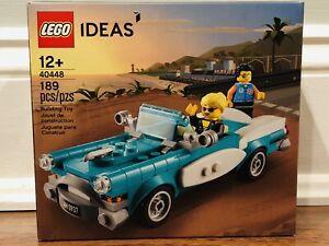 NEW SEALED LEGO 40448 IDEAS VINTAGE CAR 189pcs Free Shipping