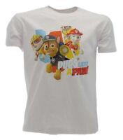 "T shirt Paw Patrol ""Pups lend a Paw!"" Bianco"