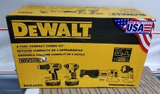 Dewalt DCK425C 18V Max Cordless 4 Tool Combo Kit - NEW