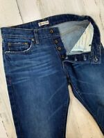 Norman Russell Selvedge Jeans 32x33 Slim Fit The Cookie