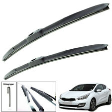 "Kia PRO Ceed 2013-on hybrid wiper blades set of front 26""14"""