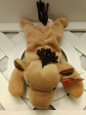 TY Beanie Baby ~ DERBY Horse (Coarse Mane, No Star) ~ NWT Retired PVC Pellets