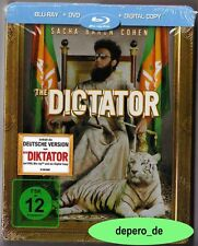 """DER DIKTATOR (THE DICTATOR)"" - Sacha Baron Cohen - BLU RAY STEELBOOK - rar OOP"