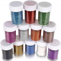 Glitter Slime Extra fine Shakers Shaker Jars Great Slime Art and Crafts Nail Art