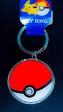 NEW! Pokemon Pokeball Keychain Key Chain Metal Key ring Monster